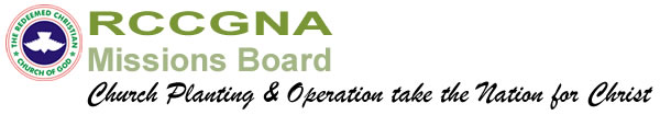 RCCGNA Missions Board